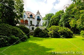 Mansion from 1898 in Dresden, Germany with Garden.